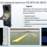 Программный имитатор ГАК МГК-335-ЭМ-03